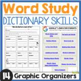 Word Work: Dictionary Skills