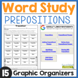 Word Work: Prepositions