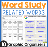 Word Work: Related Words
