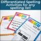 Word Work for Big Kids: Spelling Activities