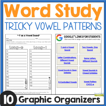 Word Work: Tricky Vowel Patterns