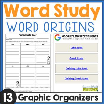 Word Work: Word Origins