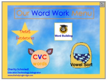 Word Work for Centers