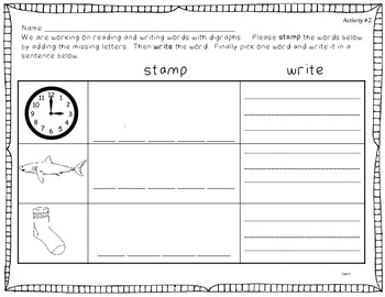 Stamping Fun with Digraphs 2