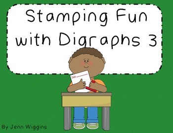Stamping Fun with Digraphs Part 3