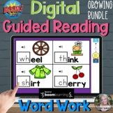 Word Work for Guided Reading BOOM Cards