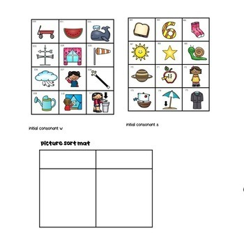 Guided Reading Word Work for Level A!  Picture Sorts, Making Words & More!
