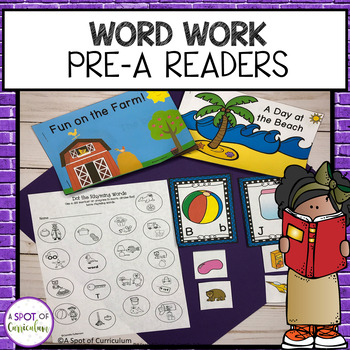 Word Work for Guided Reading - Level Pre A