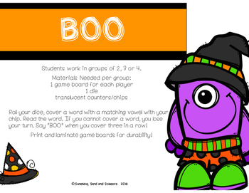 Word Work for Halloween