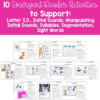 Word Work for Level A