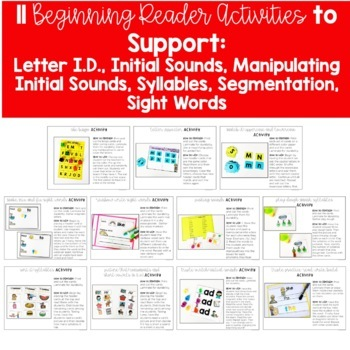 Word Work Activities for Level B
