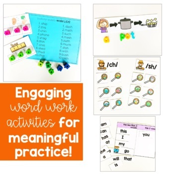 Word Work for Level D