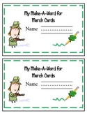 Word Work for March!