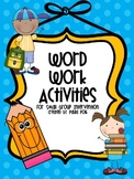 Word Work for Small Group Instruction