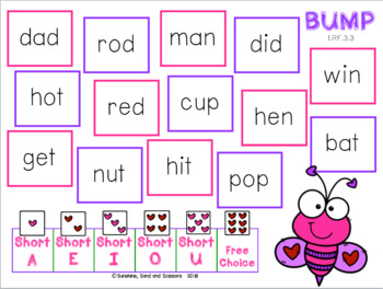 Word Work for Valentine's Day