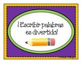 Word Work in Spanish 2