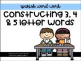 Word Work in Spanish (Part 1)