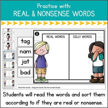 Word Work in a Flash: Short A {Digital Practice for Google Classroom}