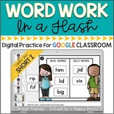 Word Work in a Flash: Short I {Digital Practice for Google Classroom}