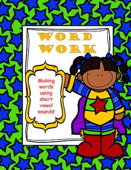 Word Work (making words)