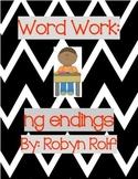 Word Work: ng endings