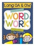 Word Work - oa, ow (long o)