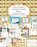 Daily Word Work or Literacy Centers Pack: November/Thanksg