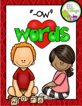 -ow word family