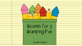 """Word Work; the sounds for the letter """"y"""""""