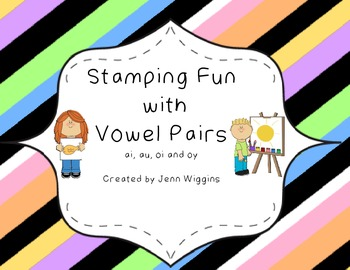 Word Work: vowel pairs oy, oi, aw, au