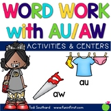 Word Work with Au and Aw