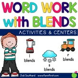 Word Work with Blends {l blends, r blends & s blends}