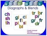 Word Work with Diagraphs & Blends