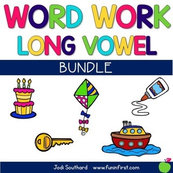 Word Work with Long Vowel Bundle