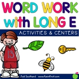 Word Work with Long e