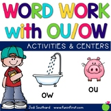 Word Work with Ou and Ow