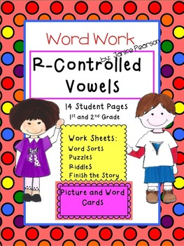Word Work with R-Controlled Vowels