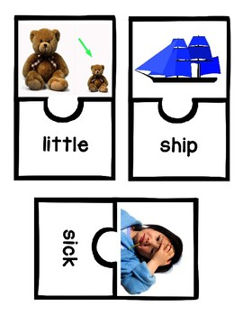 Word Work with Short-i Word Families