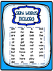 Word Work with Sight Words Sets 1&2