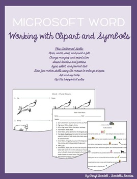 Word - Working with Clip Art and Symbols