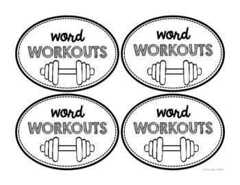 Word Wall Activities: Word Workouts