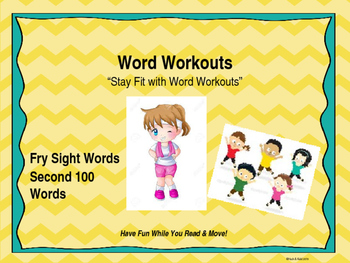 Word Workouts - Fry's Second 100 Sight Words