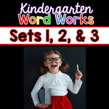 Word Works BUNDLE #1: Sets 1, 2 & 3 (Interactive PDF & Printable Versions)