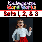 Word Works BUNDLE #1: Sets 1, 2 & 3 (Interactive PDF & Pri
