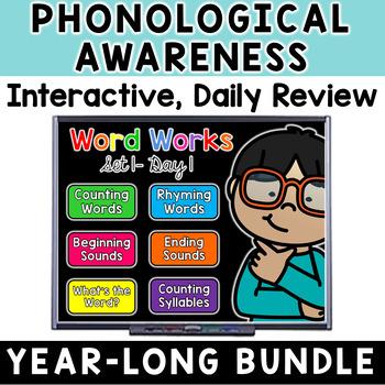 Kindergarten Word Works: EVERYTHING Bundle