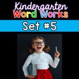 Word Works Phonological Awareness Routine: Set 5 (Digital