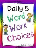 Word Works Set 1