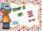 Stamp It Up! Long A Word Works /ai/ /ay/