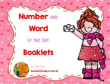February Number Sense and Vocabulary Builders Morning Work