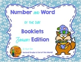 Number Sense and Vocabulary Builders Morning Work for January